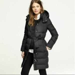 J. CREW Hooded Puffer Jacket Down Puffy Winter XS